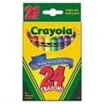 Crayola Classic Color Pack Crayons, Wax, 24 Colors Per Box
