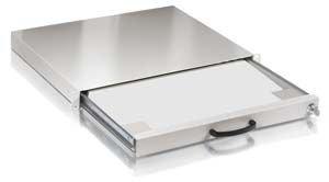 Equip 19 Zoll Tastaturschublade, RAL7035 grau