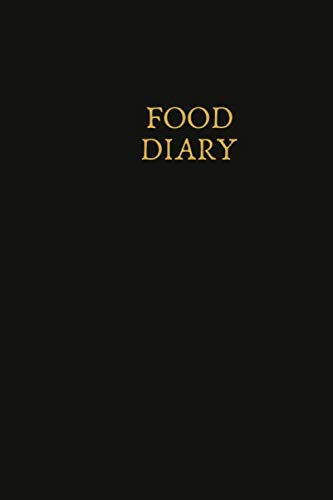 Detox-plan (Food Diary: Small Lined Ruled A5 Notebook (6