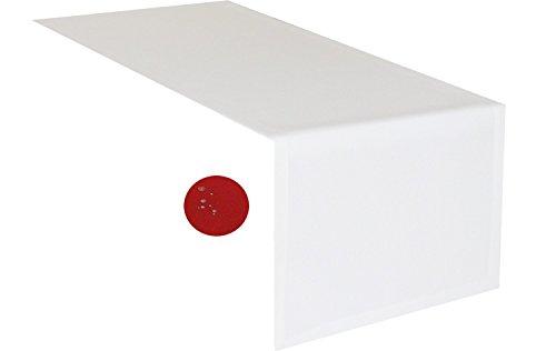 tischlaufer-weiss-40-x-140-cm-abwaschbar-schmutz-und-wasserabweisend-eckig-grosse-farbe-wahlbar