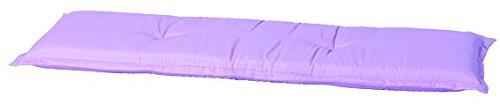 Madison 7BAN7-B260 Gartenbank, 3-Sitzer Panama pastel, 150 x 48 cm, Baumwolle / Polyester, rosa