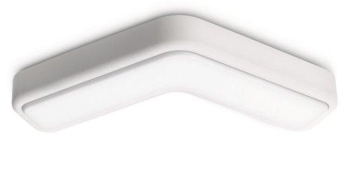 PHILIPS Ecomoods Energiespar- Deckenleuchte  mit 11W, inklusive Leuchtmittel, 2-flammig 331003116
