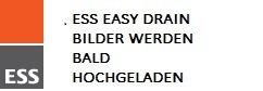 ESS Easy Drain Duschrinne Easy Drain Compact FF Zero 80 cm, 30 mm Sperrwasserh., einteiliger Rost