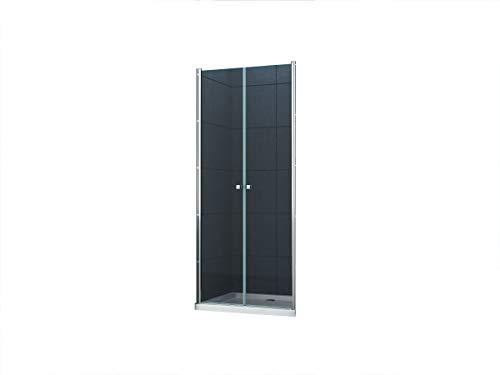 6 mm Nischentür Sany 95 x 195 cm/Nische Duschtür Duschkabine Dusche Duschwand