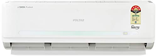 Voltas 1.5 Ton 5 Star Inverter Split AC (Copper, 185V DZV/185 VDZV2, White)