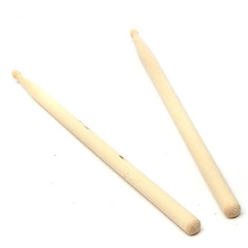 2PC-Professional-Maple-5A-Wood-Drumsticks-Stick-for-Drum-Set-Lightweight-Premium