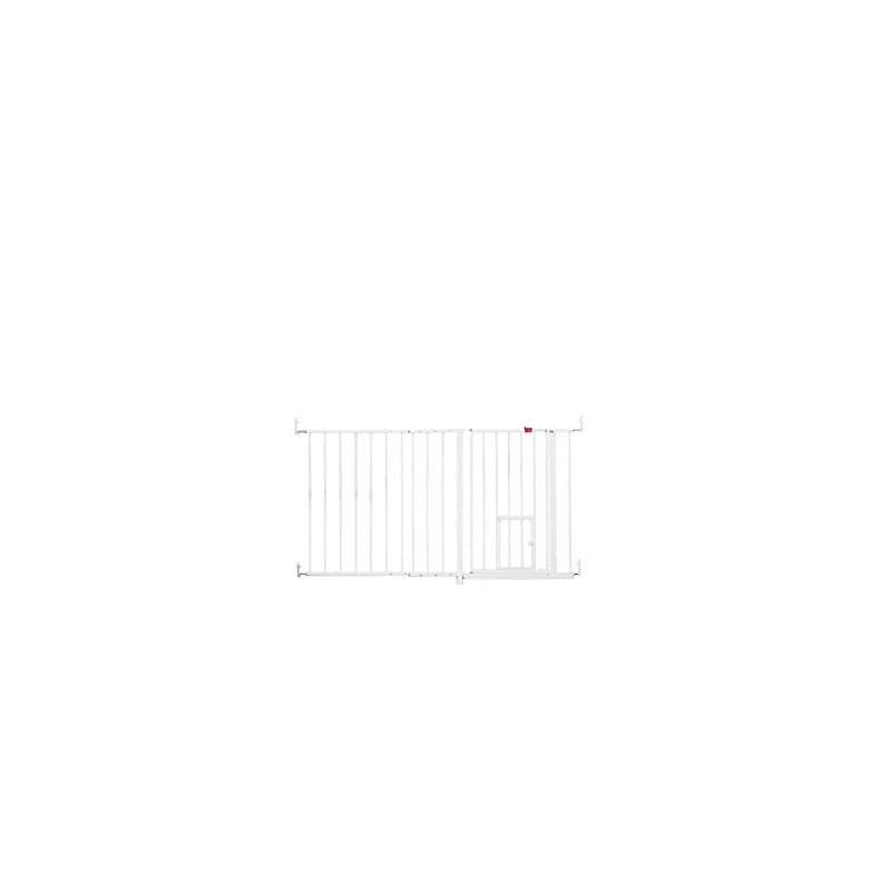 Carlson Maxi Extra Tall 96cm And Extra Wide 150cm Gate With 60cm