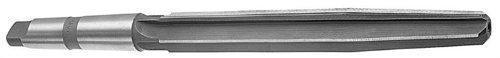 Drill America DWRRBST Series Qualtech High-Speed Steel Bridge Reamer, Straight Flute, Morse Taper Shank, Uncoated (Bright) Finish, 1/2