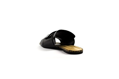 Vicenza Pantofola Fibbia 229010 Nero
