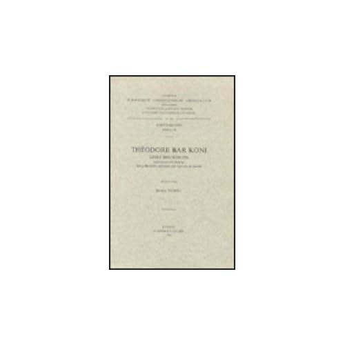 Theodore Bar Koni. Livre Des Scolies. Syr. 198.