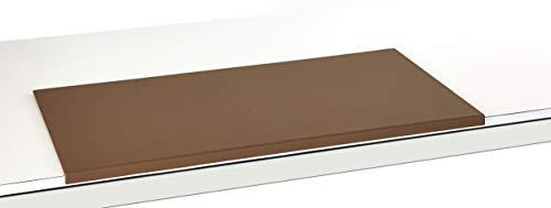 Schreibtischunterlage Leder mit Kantenschutz gewinkelt