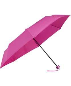 Paraguas compacto plegable, azul oscuro, Rob McAlister