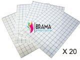 Bramacartuchos - 20X Hojas Papel Transfer Camisetas