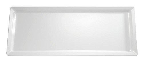 APS gf130 rectangulaire plateau en mélamine, blanc pur
