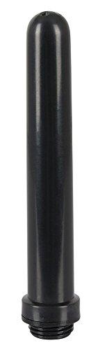 ORION Intimdusche – Analdusche als Aufsatz für den Duschschlauch, glatte Hygienedusche mit fünf Öffnungen, Duschaufsatz in schwarz
