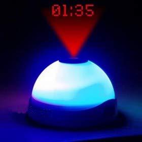 Reloj Despertador con Luz Led y Proyector