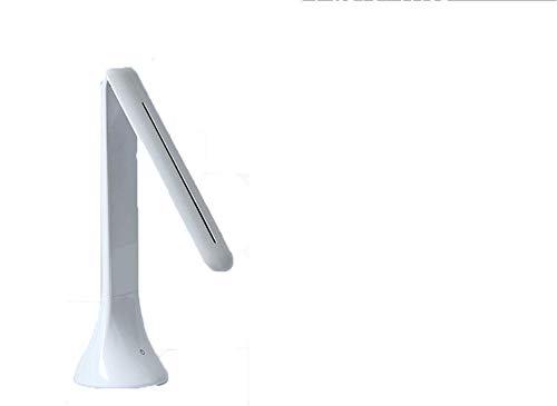 Gymqian LED Schreibtischlampe Kinder Schreibtischleuchte Led Dimmbar Weiß Faltbar Tischleuchten USB Wiederaufladbare Leselicht