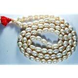 phoenix888 Mala, schöne Perlenbrosche Mala, Moti Ka Kanthhaar, Moti Halskette