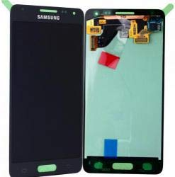Samsung Galaxy Alpha G850F LCD Display Anzeige Bildschirm Touchscreen Touch Glas Schwarz GH97-16386A - Samsung Alpha Display