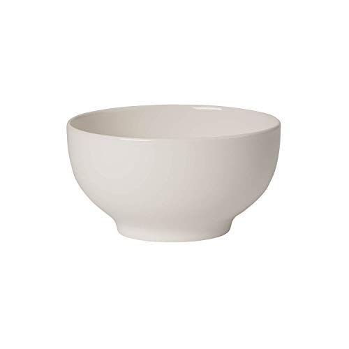 Villeroy & Boch For Me Cuenco de Cereales, Porcelana Premium, Blanco