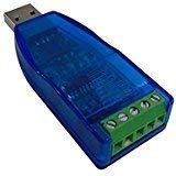 DSD TECH SH-U10 USB zu RS485 Konverter mit CP2102 Chip Kompatibel mit Windows 7, 8, 10, Linux, Mac OS