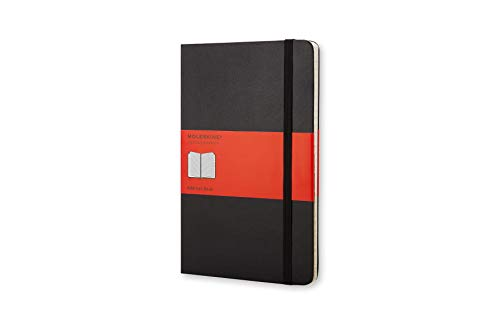 Moleskine Rubrica Address Book, Large, Nero