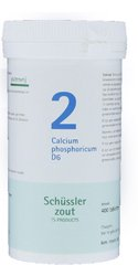 Sali di Schüssler pflüger No. 2 calcio phosphoricum (Fosfato acido di calcio) D6 400 compresse glutine