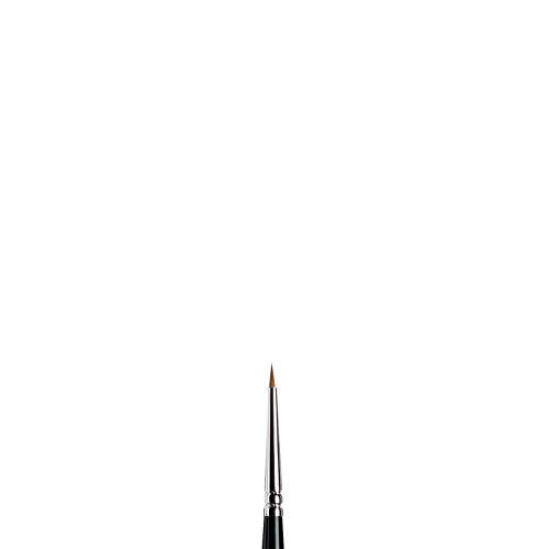 Winsor & Newton Pincel de acuarela para miniaturas Serie 7 Color negro 0 5012000