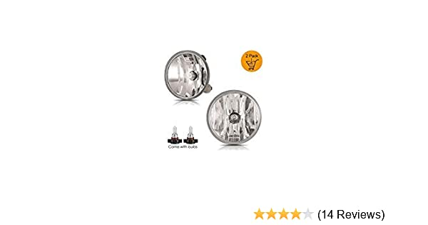 Not Fit RS Model AUTOWIKI Fog Light for 2007-2012 GMC Acadia//2007-2012 Ford Escape//2007-2011 Ford Mustang Shelby GT500//2010 Pontiac G6//2010-2013 Chevrolet Camaro