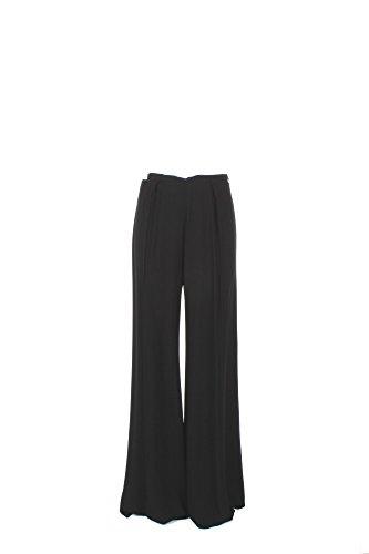 Pantalone Donna Elisabetta Franchi 42 Nero Pa9574161 1/7 Primavera Estate 2017
