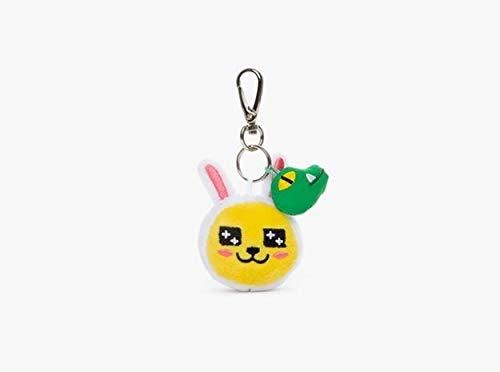 CDGZ 1 Stück Kawaii Kakao Freunde Plüsch Schlüsselbund Tasche Anhänger Korea Cartoon Ryan Schlüsselanhänger Gefüllte & Plüschtiere Plüsch Dolll Kinder Geschenk 6 cm Kaninchen (Kakao Freunden)