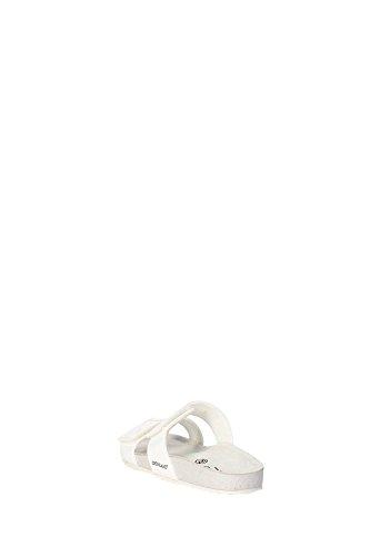 Grunland CB1055-40 Mules Fille Blanc - Blanc