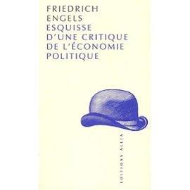 Esquisse d'une critique de l'économie politique