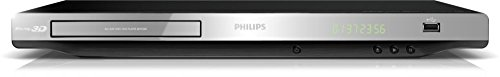 Philips BDP3280 3D Blu-ray Player - Silber/Schwarz