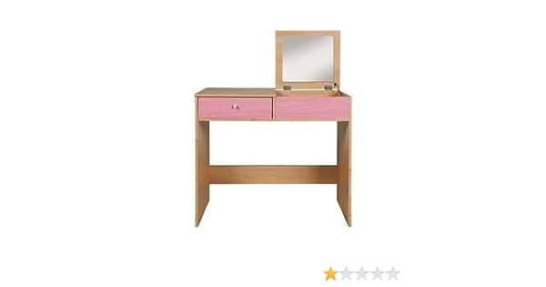 new concept d20ef 16868 Malibu Pink Dressing Table or Computer Desk - Girls Bedroom ...