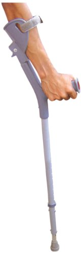 Vissco Invalid Elbow Crutches with Double Folding Handle - Universal