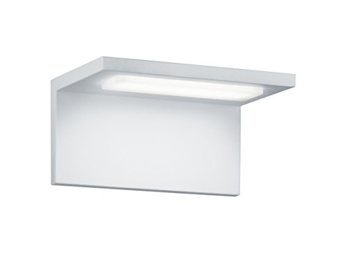 Trio Leuchten LED-Aussen-Wandleuchte Trave Aluminiumguss, weiß 228760101