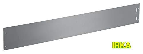 IRKA Rasenkante Edelstahl 14 cm hoch mit einzigartiger Verteifungskante 100 cm lang