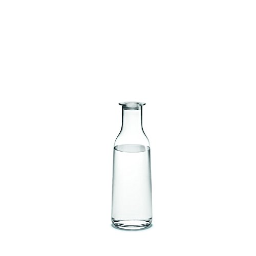 Minima - Carafe avec bouchon transparent/90cl/H 26.5cm