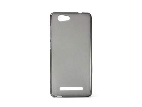 etuo Allview X3 Soul Lite - Hülle FLEXmat Case - Schwarz - Handyhülle Schutzhülle Etui Case Cover Tasche für Handy