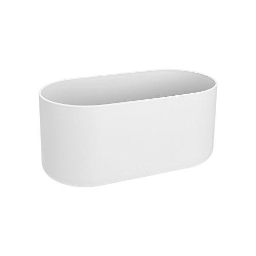 Elho B.for Soft Duo 27 - Pot De Fleurs - Blanc - Intérieur - Ø 27 x H 12.6 cm