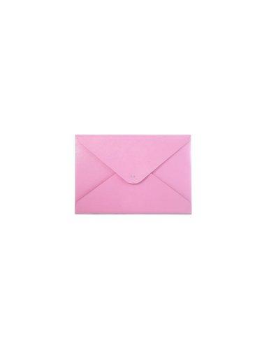 paperthinks-carpeta-de-piel-reciclada-19-x-12-cm-diseno-con-aspecto-de-sobre-color-rosa
