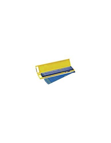 Stanley HSS-Molybdän Bi-Metall Metallsägeblatt (24 Zähne/Inch, 300 mm Länge, 5 Stück auf Karte) 2-15-558