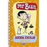 Mr.Bean Agenda Escolar Permanente (naranja)