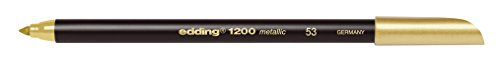 Edding 1200 metallic Stift gold