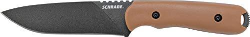 Schrade TB-SCHF42D SCHF42D Schrade-Outdoormesser-F42 Frontier (Desert Grivory Handle) -Klingenlänge: 13 cm, Steel, mehrfarbig -