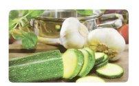 Ricolor Frühstücksbrettchen mit Dekor 'Gemüse' 23,5x14,5x0,2cm (Modell zufällig, 1 Stück)