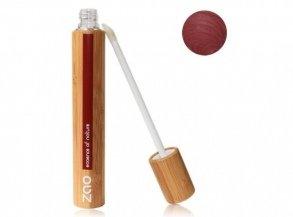 ZAO Lipgloss 005 burgunderrot dunkelrot rot in Bambus (bio, Ecocert, Cosmebio, Naturkosmetik) -