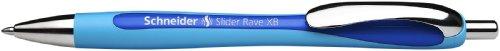 Schneider 132503 Slider Rave XB Kugelschreiber 5-er Packung blau