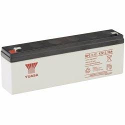 Yuasa NP2.3-12 - Valve regulated lead acid (12 warranty) Valve-regulated Lead